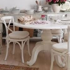 shabby chic round dining table shabby chic round dining table and chairs home interior inspiration