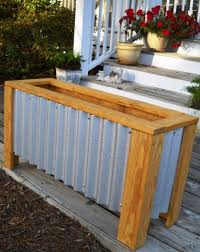 pallet planter box with pots photo hanging planter boxes diy free