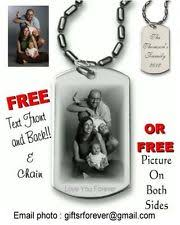 Personalized Dog Tags For Couples Custom Jewelry Ebay