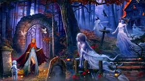 evil halloween background art creepy mobile amazing artistic spooky original fantasy