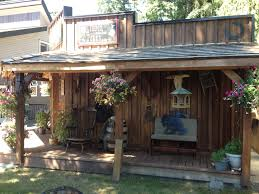 western theme shed saloon look saloon western pinterest