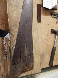 old kitchen knives i made a chef u0027s knife from an old woodsaw no heat treat kitchen