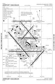 Chicago Ord Airport Map by O U0027hare International Airport