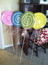 where can i buy cellophane wrap candy land suckers made from foam board dowel rods and cellophane