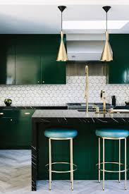 kitchen style dark green falt cabinets black kitchen countertop