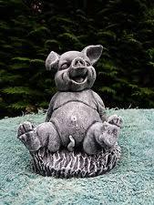 pigs garden ornaments ebay
