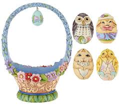 jim shore easter baskets jim shore heartwood creek 10th annual easter basket page 1 qvc