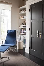 Black Interior Paint Low Sheen Glossy Black Interior Door Doors Living Room Rustic Mid