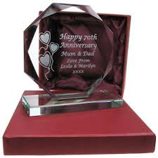 engraved anniversary gifts golden wedding anniversary gifts ebay