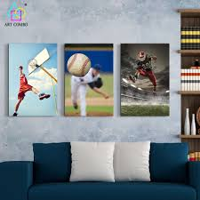 figure painting people play sports home decor picture athletics