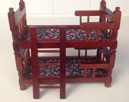 Stackable Bunk Beds Wooden Doll Bunk Bed Etsy