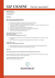 dental resume sample dental assistant resume template great