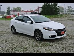 dodge dart rallye 2013 2013 dodge dart sxt rallye sedan white for sale dayton troy piqua
