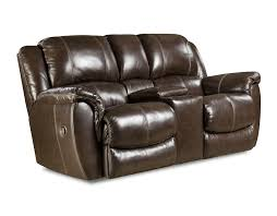 Rocking Reclining Loveseat With Console Homestretch Put Your Feet Up Loveseats