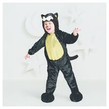 cat costume toddler plush black cat costume 2t 3t hyde and eek boutique