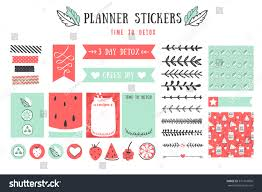 cooking cards notes stickers labels tags stock vector 371916856