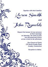 free printable wedding invitations templates for word