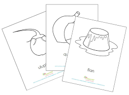 mommy maestra a food coloring book from mamayala printable