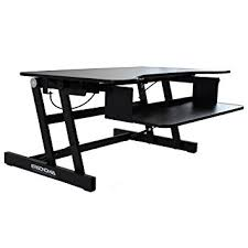 amazon com ergonomia height adjustable standing sit to stand desk