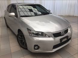 lexus hybrid hatchback 2013 certified 2013 lexus ct 200h technology package hybrid 2 sets of