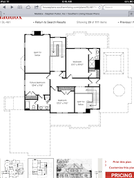 maddox floor plan 2nd floor from southernliving com home pinterest