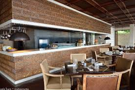 Restaurant Open Kitchen Design by Sundara Beachfront Restaurant At Four Seasons Resort Jimbaran