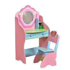 Childrens Vanity Tables Childrens Dressing Table Chair Wooden Vanity Desk Fairy Bedroom
