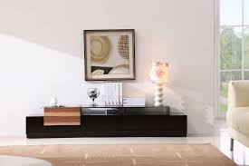 Modern Tv Stand Furniture by Briliant Wood Veneer Elegant Tv Stand With 2 Shelves Anchorage