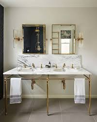brass bathroom mirror astonishing brass bathroom mirror with traditional vanities