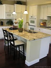 white kitchen island with breakfast bar captivating kitchen feat marble top white wooden kitchen with
