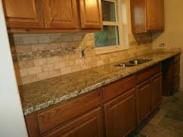 Brilliant Tile Backsplashes With Granite Countertops For Home - Granite tile backsplash ideas