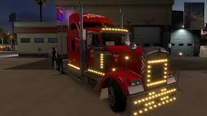 2018 kenworth w900 uncle d logistics heartland express red kenworth w900 skin modhub us