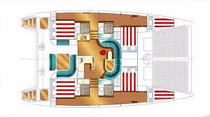 luxury charter yacht nemo nautitech sailing yacht 2009
