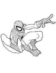 coloring pages superheroes kids coloring