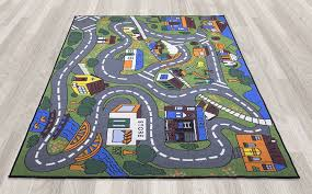Colorful Kids Rugs by Amazon Com Ottomanson Jenny Collection Grey Base With Multi