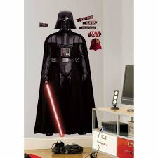 roommates star wars classic vader piece peel star wars classic vader piece peel and stick giant wall decal rmk slg the home depot