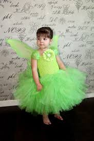 Tinkerbell Halloween Costume Toddler Tinker Bell Fairy Princess Tulle Tutu Dress Halloween
