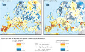 Physical Map Of Europe Rivers by Meteorological And Hydrological Droughts U2014 European Environment Agency
