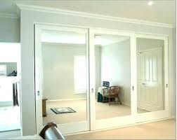Mirror Sliding Closet Doors Closet Door Options Masterful Sliding Door Options Modern Closet