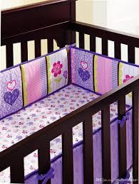 purple bedding sets for girls purple animals girls baby crib bedding set 3d embroidered owl