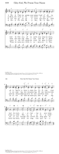 song of praise and thanksgiving holy god we praise thy name hymnary org