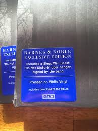 Barn Noble Barnes U0026 Noble Exclusive National Vinyl Comes With A Signed Door
