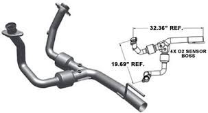catalytic converter for jeep grand magnaflow 93241 performance 49 state direct fit front catalytic