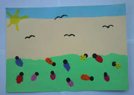 thumbprint ladybugs fun family crafts