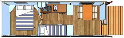 roulotte 2 chambres location de mobil home à rocamadour chalet et roulottes