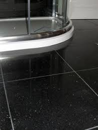 Black Bathroom Floor Tile I First Saw Sparkly Floor Tiling Like This In An Airport Newsstand
