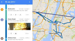 timeline maps maps timeline tracks your location and shows you where you