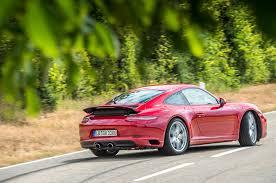 porsche s 911 on the road in the 2017 porsche 911 s