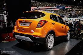 vauxhall orange vauxhall mokka tech line announced autoevolution