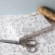 easter colour wrapping paper jg artwork notonthehighstreet